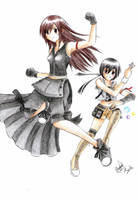 Tifa and Yuffie