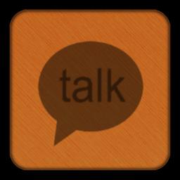 Dark Flare Google Talk Icon By Stuntinx On Deviantart