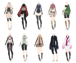 Naruto Outfit Adoptables 4 [CLOSED]