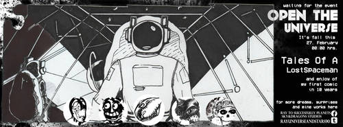 OpenTheUniverse-TaleOfALostSpaceman BANNER by RaySucessfullyPlanet