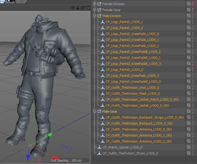 Ghost Recon: Wildlands models (Archive_Next) - Developers