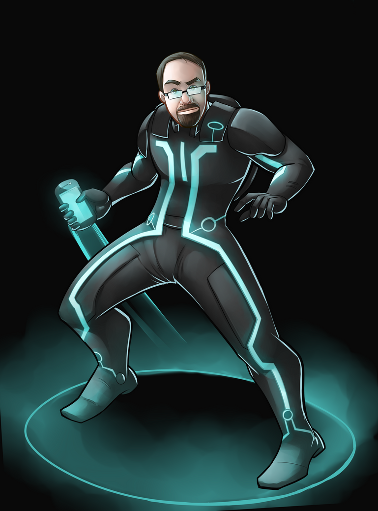 Tron commission by silvachito