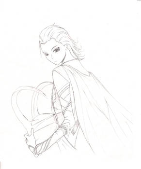 Anime Avengers: Loki