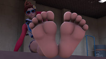 HeHe I Didn't Know You Were Into My Feet