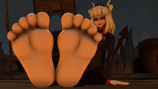 Aren't My Devilish Feet Hard To Resist Hmmm?