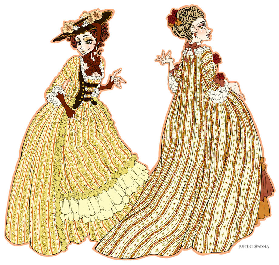 1760's Dresses by Seitou