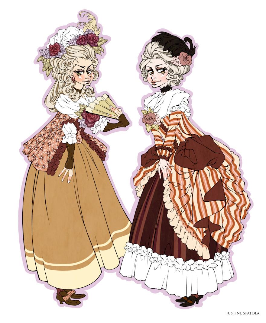 1770's Dresses by Seitou
