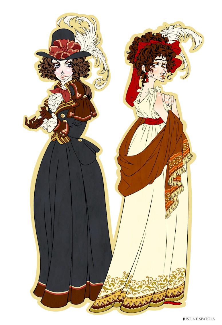 1790's Dresses by Seitou