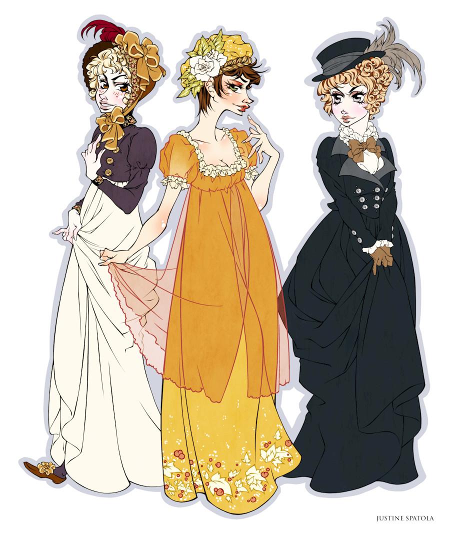 1800's Dresses By Seitou On DeviantArt