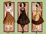 LM: Vintage Lolita Set I by Seitou