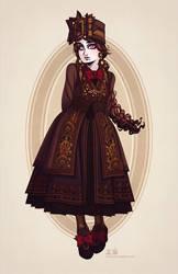 Fallene's Spring and Summer Travel Dress