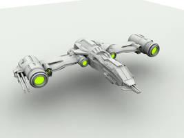 GSF Interstellar Heavy Fighter by denizengt