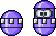 Megaman 7 styled Pukapelly by Erokuso