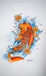 Koi fish by Arunaudo