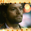 Castiel after the phone call by Arunaudo