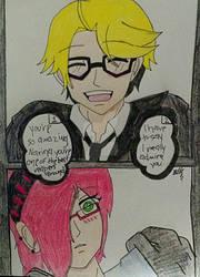 I Admire You (RonaldxNarina Comic) by TheBlackIceKing