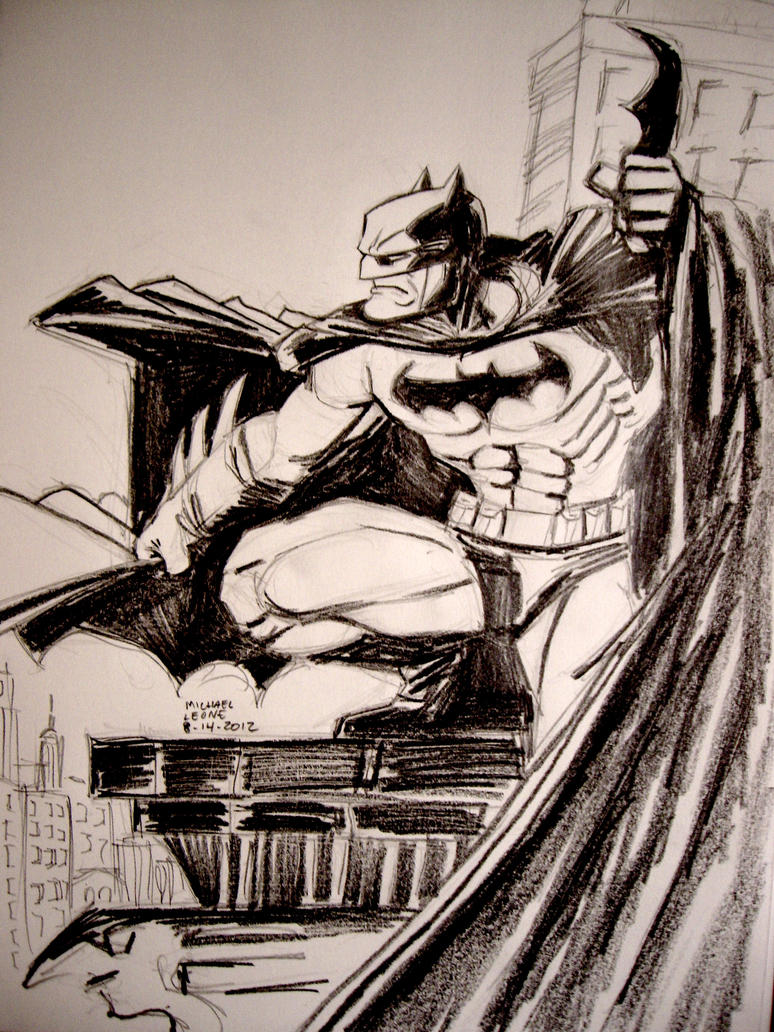 The Dark Knight by myconius