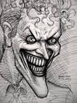 The Joker (pen sketch)