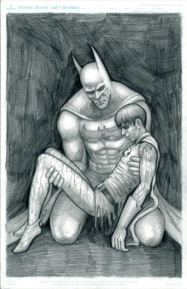 Batman Death in the Family by myconius