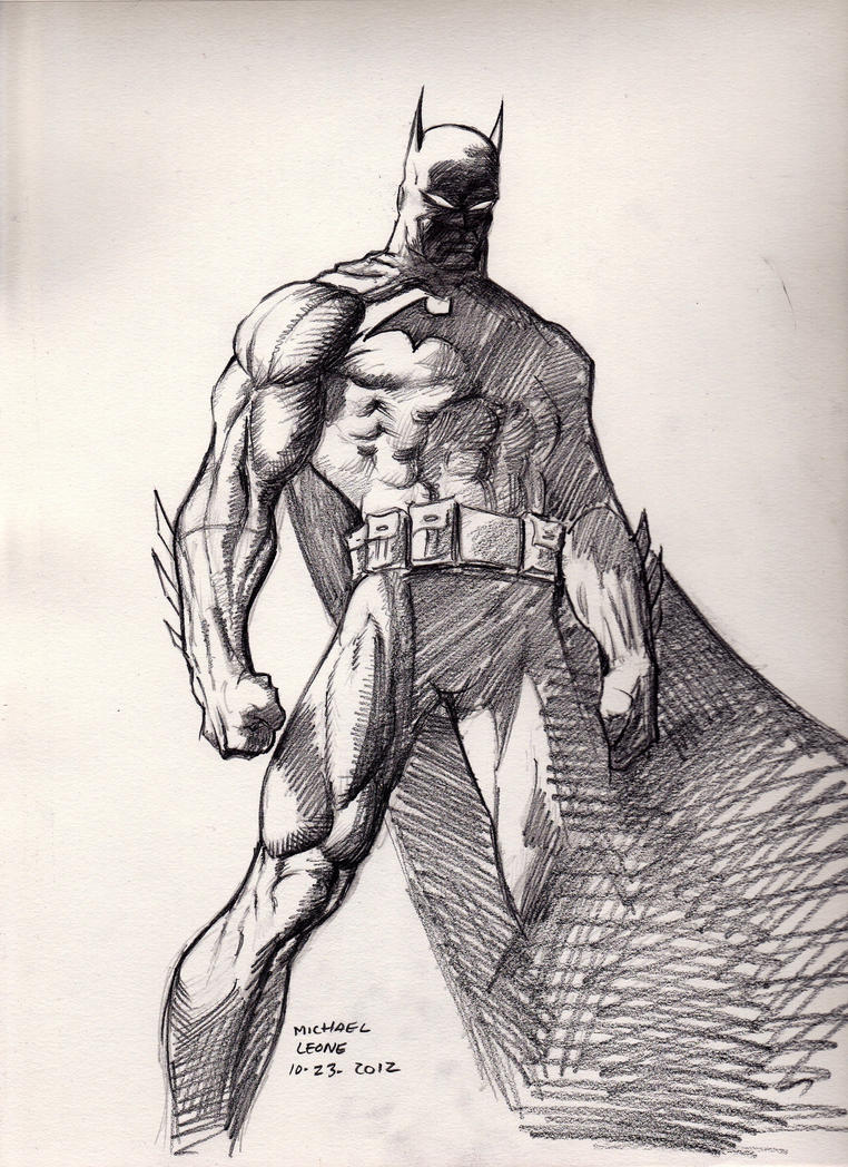 Batman (after Jim Lee) 10-23-2012 By Myconius On DeviantArt