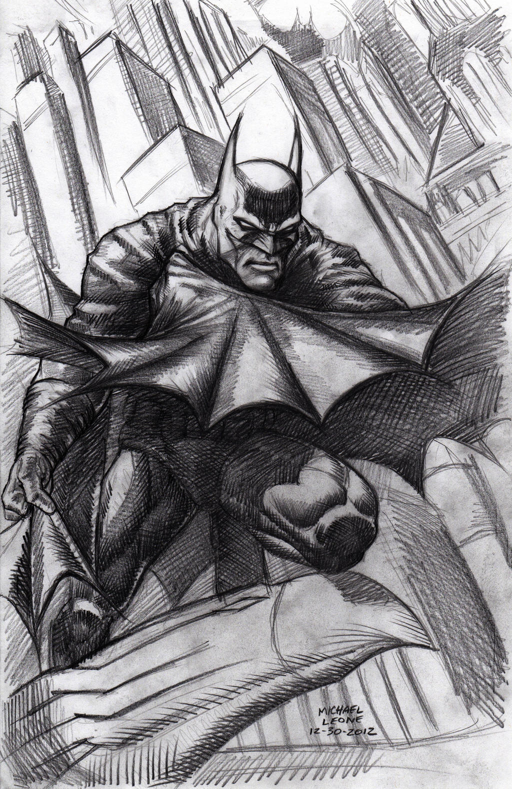 Batman after Finch 12-30-2012 by myconius