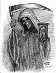 Death (pen sketch) 1-10-2013