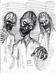 Zombie pen sketch 1-25-2013