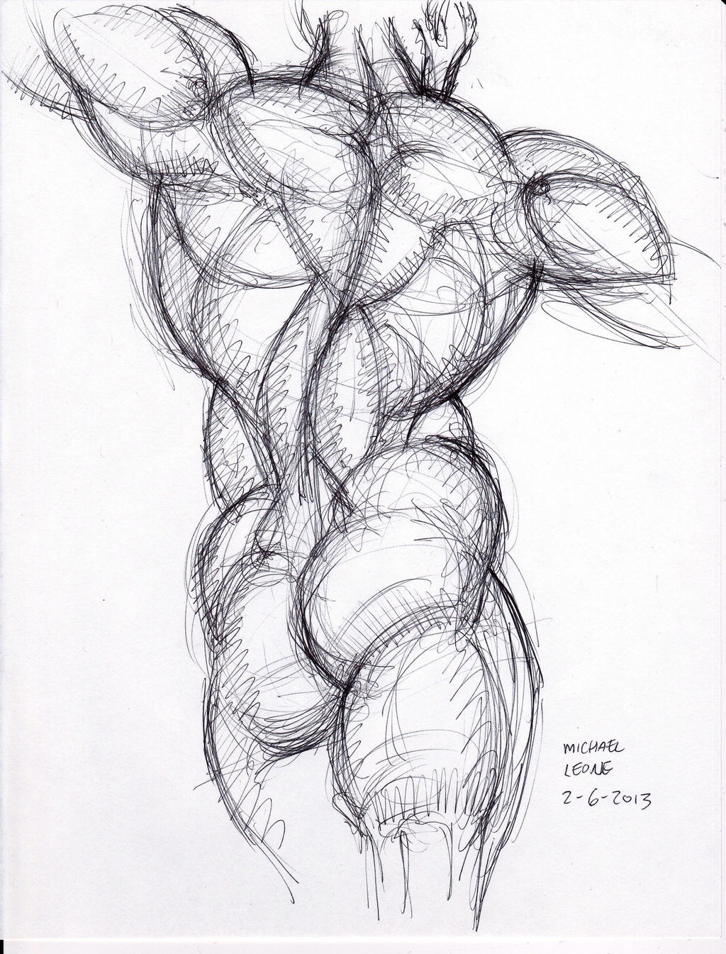 Hogarth sketch 2-6-2013 b by myconius on DeviantArt