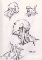 Study Of Male Neck 4-22-2013 by myconius