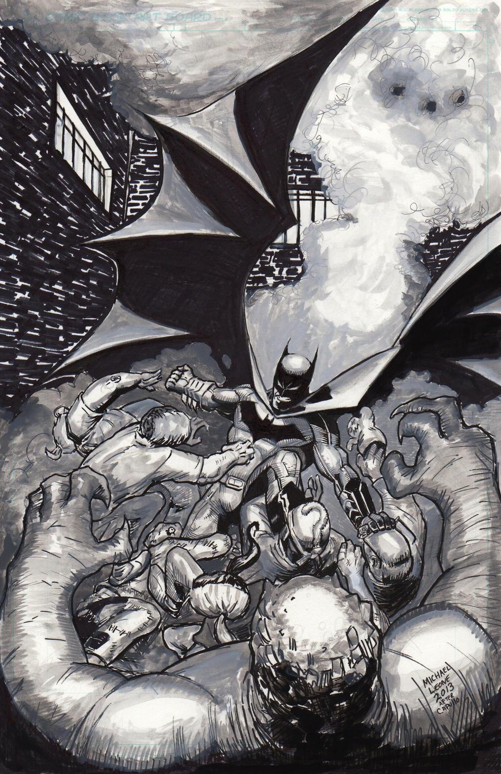 Batman Court of Owls 7-12-2013 by myconius