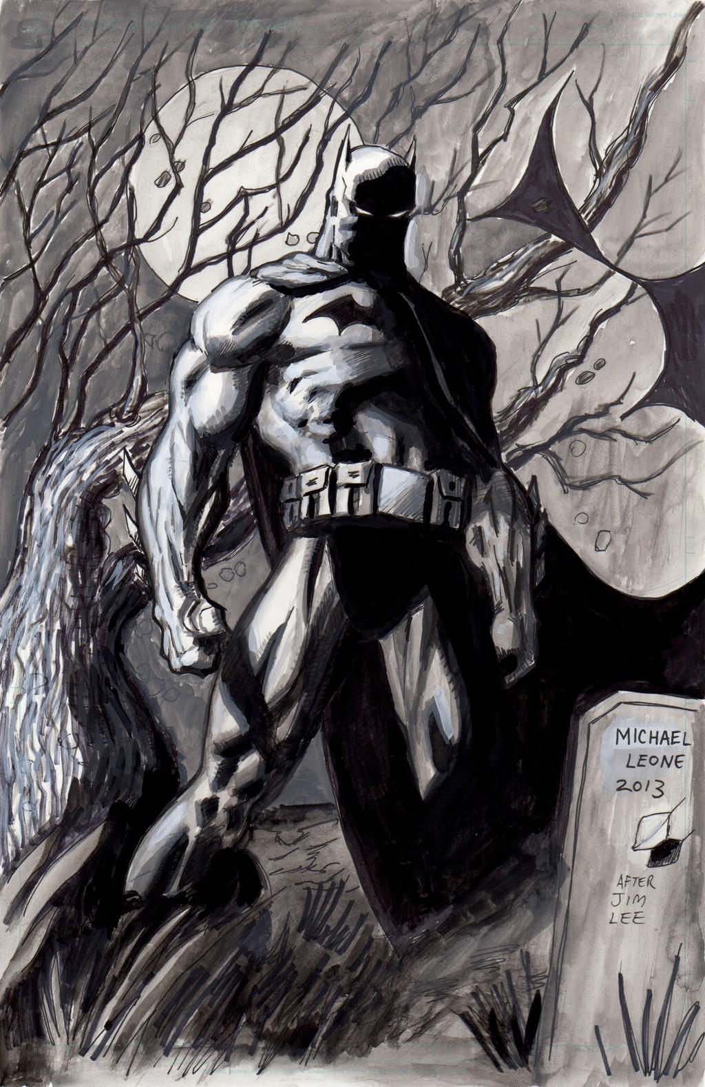 Batman Hush 7-15-2013 by myconius