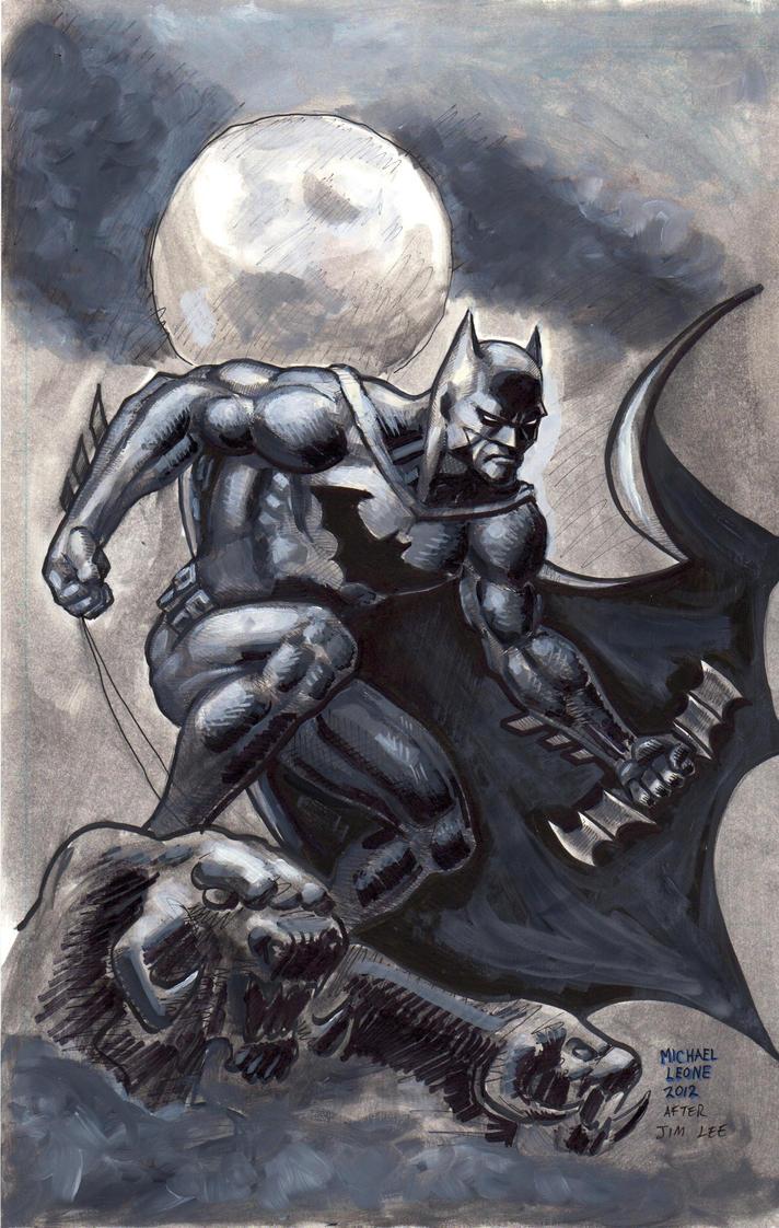 Batman Hush 2012 by myconius
