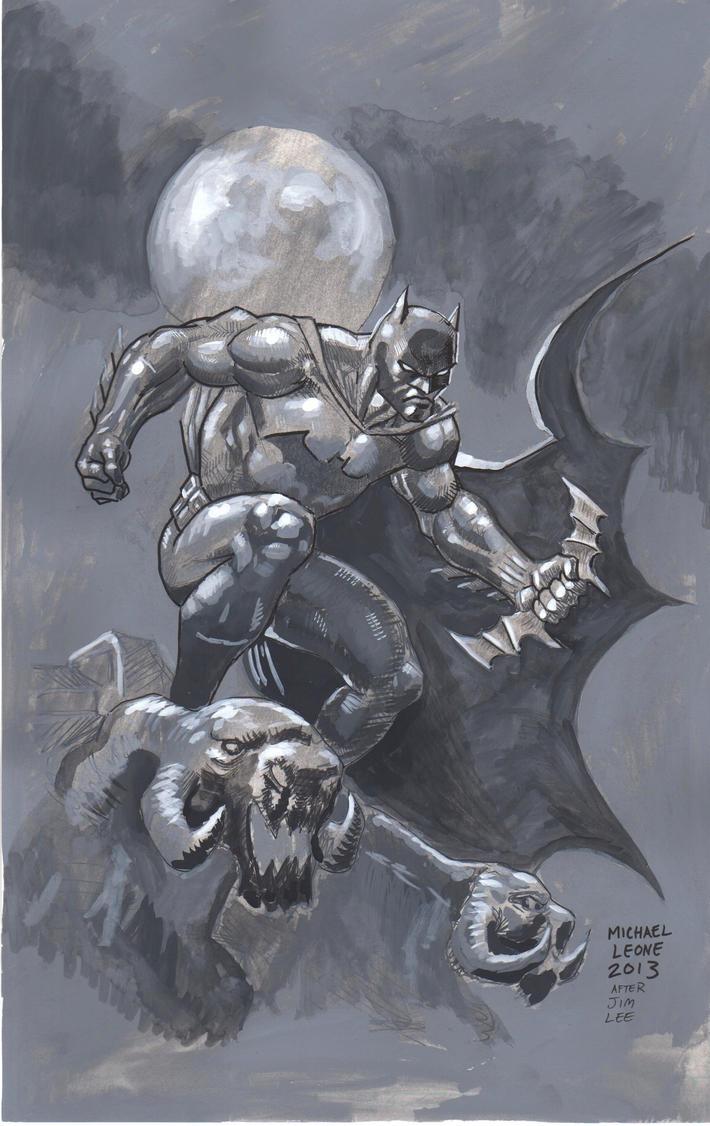 Batman Hush Unwrapped 7-2013 by myconius