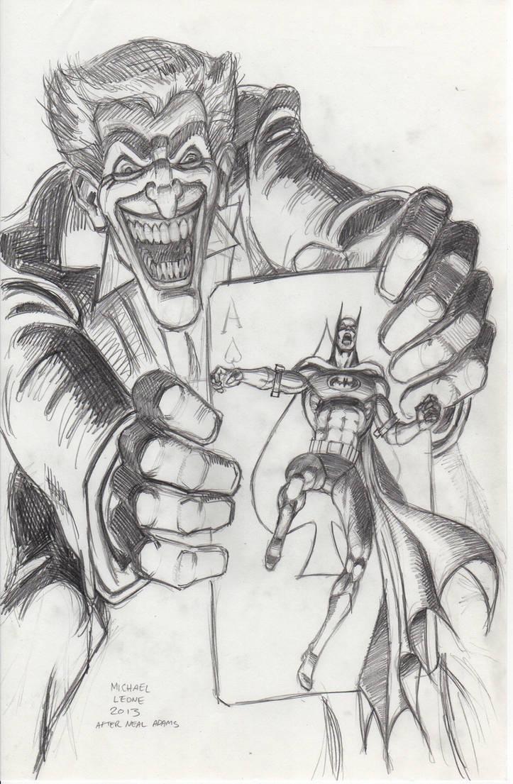 Batman jokers 5 way revenge pencil sketch by myconius on deviantart