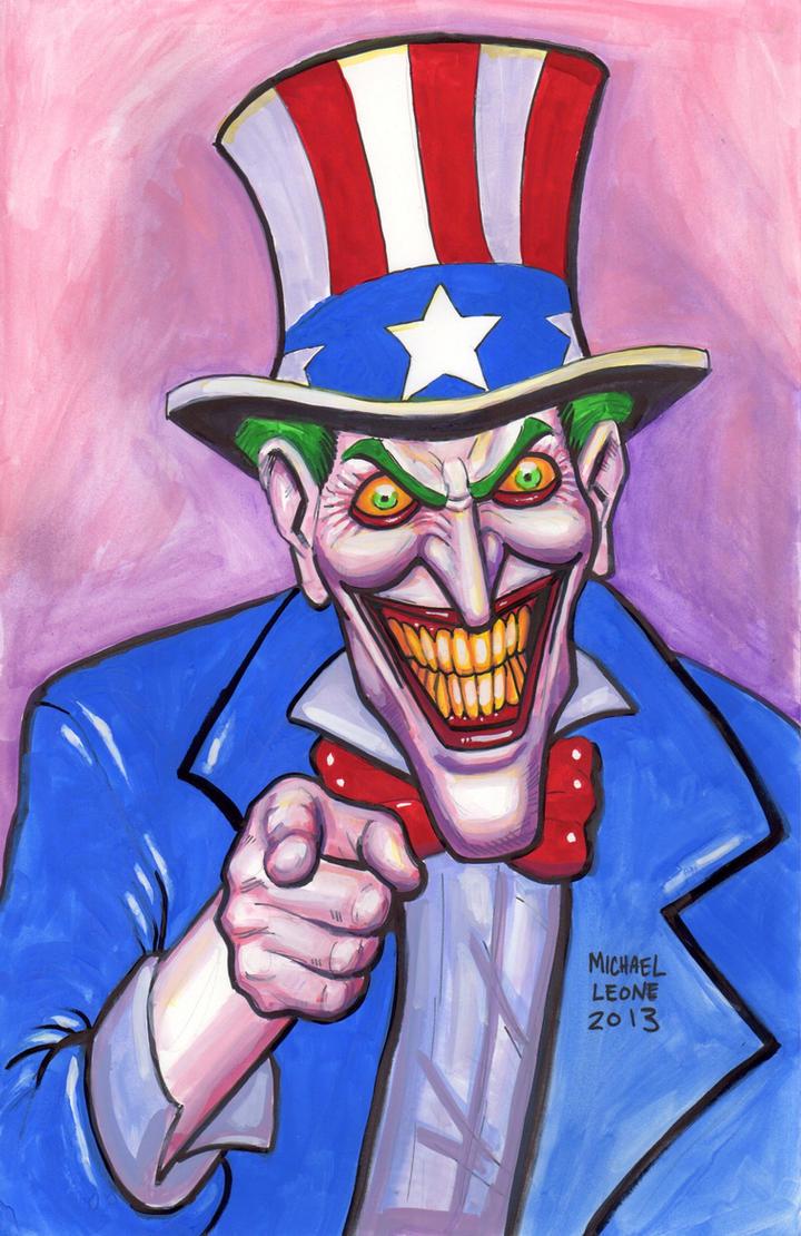 Uncle Joker 8-6-2013 by myconius