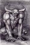 Demon Sketch 11-112013