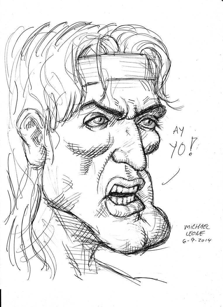 Rambo 6-9-2014 by myconius on DeviantArt