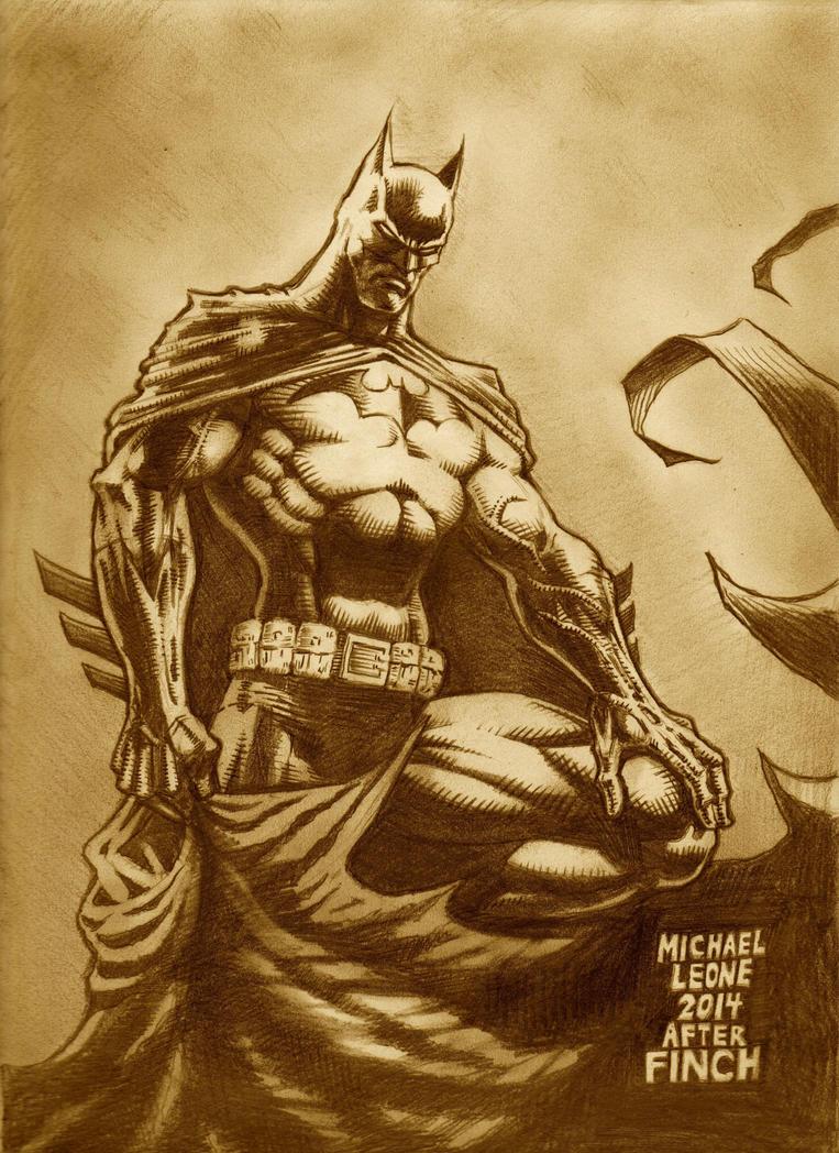 Batman after Finch 12-14-2014 by myconius