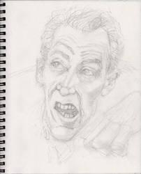 NotLD Cemetery Ghoul WIP2 by myconius