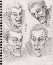 NotLD Cemetery Ghoul Sketches 1-5-2019