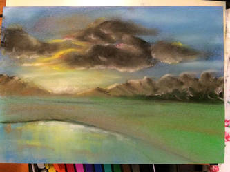 First Pastel Painting