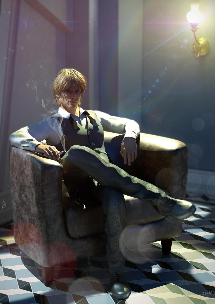 Mood Study - Shizuo Heiwajima the strongest man by Azkas19