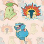 Johto Pokemon Starters