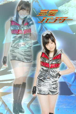 Renai Hunter - Mizuki Fukumura iPhone Wallpaper by michishigesayu