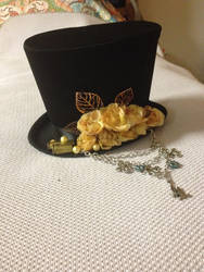 top hat by bloodymensahara