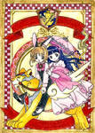 Sakura and Tomoyo poster