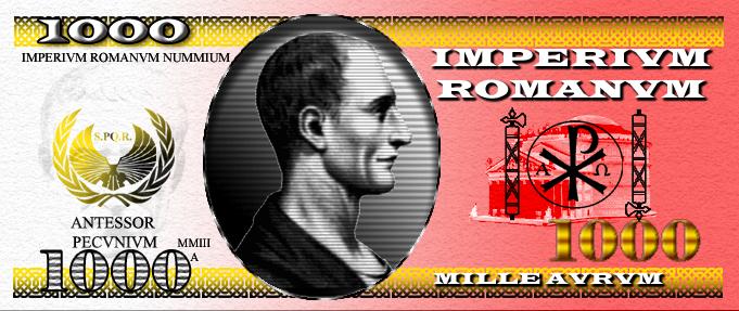 Roman Money by 1Wyrmshadow1