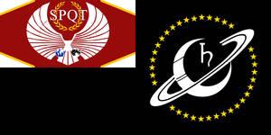 Saturn Colony Flag