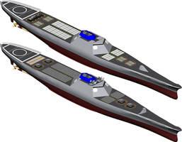 Arsenal Ship by 1Wyrmshadow1