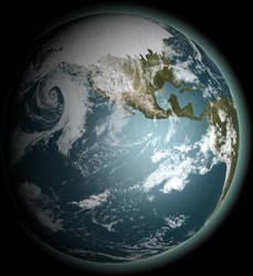 Ice Age Earth by 1Wyrmshadow1